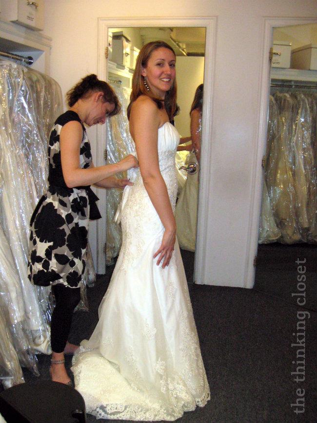 Trying Wedding Dresses On 27