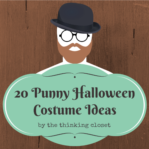 20 Punny Halloween Costume Ideas. Hilarious and grrrreat for last-minute! via thinkingcloset.com