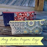 Amy Butler Origami Bags: Story of a Crafternoon