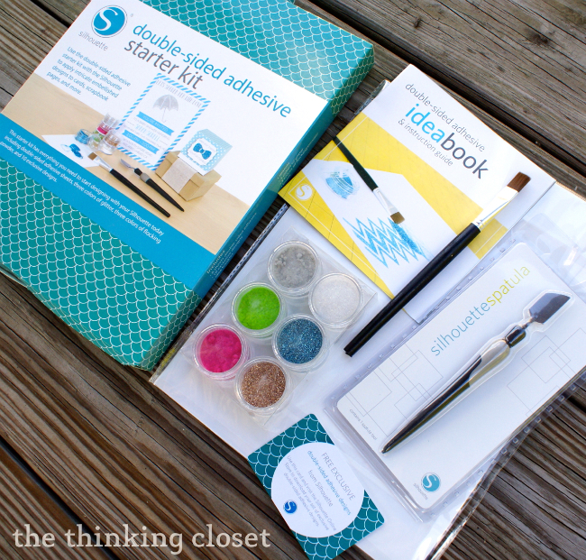 Double-Sided Adhesive Starter Kit from Silhouette