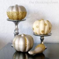 Glitter Glam Pumpkins & $100 Gift Card Giveaway!