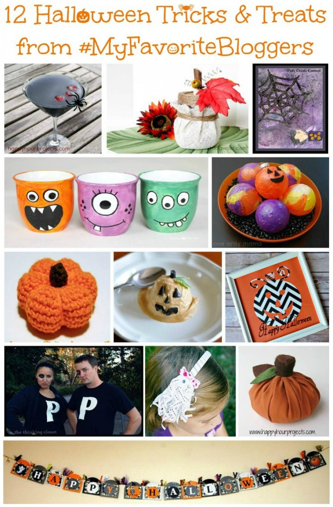 "FREE Halloween eBook of 12 ""Tricks and Treats!"" via thinkingcloset.com"