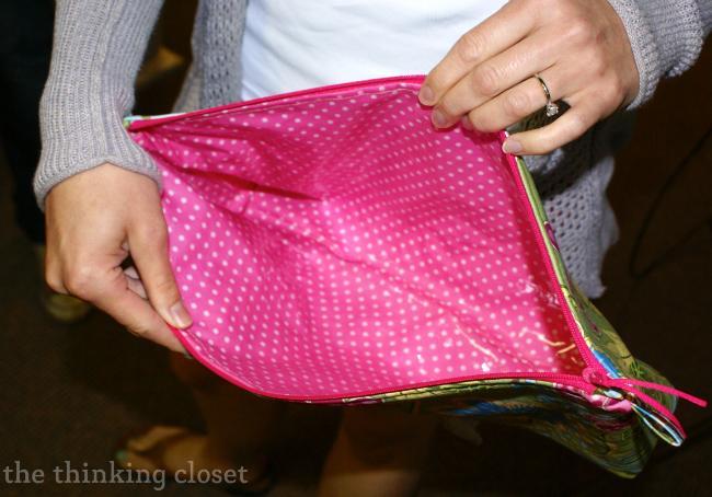 Laminated Fabric On An Origami Bag Via Thinkingcloset