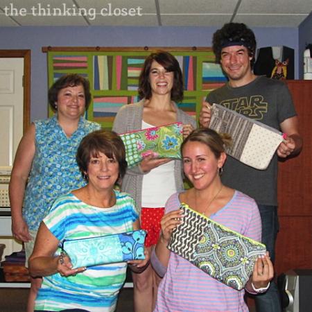 "Origami Bags!  Story of a ""Crafternoon"" via thinkingcloset.com"
