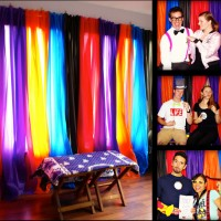 D.I.Y. Photo Booth Backdrop for $10