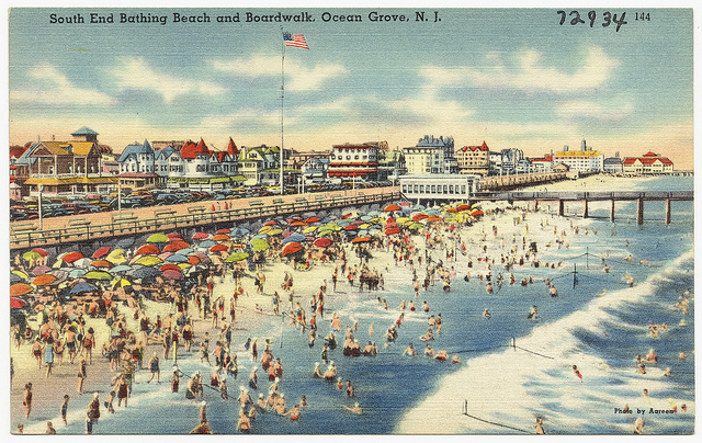 Greetings from Ocean Grove, N.J!
