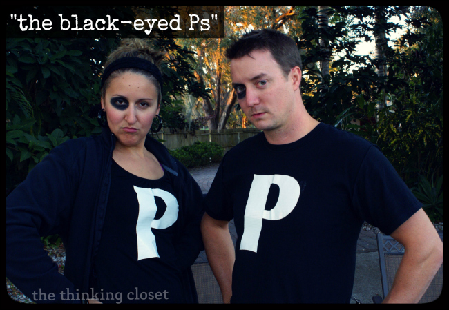 """""""The Black Eyed Ps"""" - - Plus 20 MORE Punny Halloween Costume Ideas 