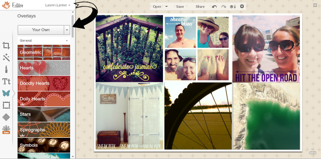 Using PicMonkey to print Instagram photos!   So easy.
