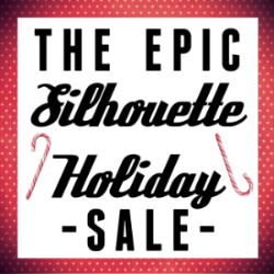EPIC Silhouette Holiday Sale, 11/28 - 12/8 at thinkingcloset.com!  MAJOR deals on Silhouette machines and supplies using the code CLOSET.