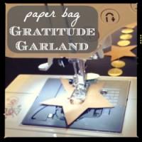 Paper Bag Gratitude Garland