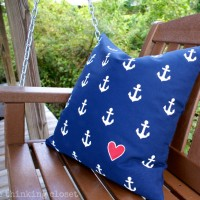 Nautical Anchor Pillow Tutorial