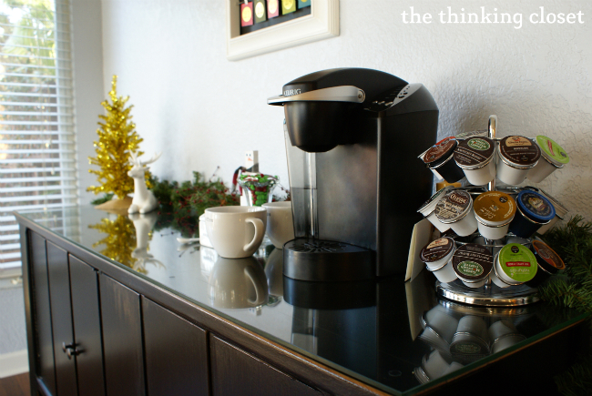 Hot Drinks Station for Guests!