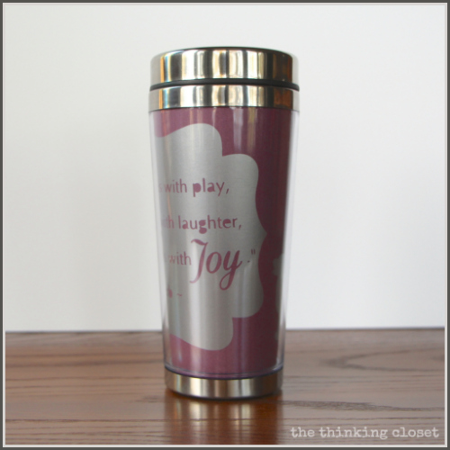 DIY Insulated Mug