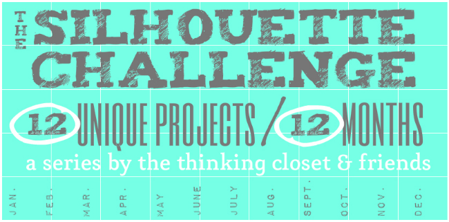 The Silhouette Challenge!  12 unique projects in 12 months.
