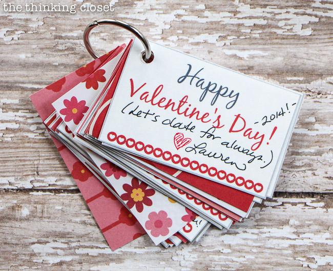 creative valentines day gift ideaa mini book with pre planned - Creative Valentines Day Ideas For Girlfriend