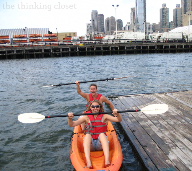 Kayaking! 1 of 101 Creative Date Nights on a Dime! via thinkingcloset.com
