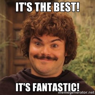 "Nacho: ""It's the Best! It's Fantastic!"""