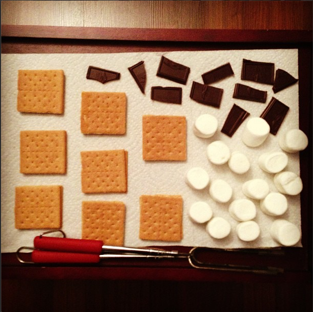 S'more s'mores, please! 1 of 101 Creative Date Nights on a Dime! via thinkingcloset.com