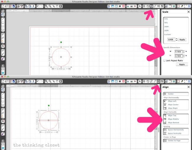 Designing File Tabs in Silhouette Studio