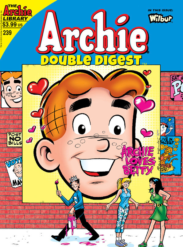 Archie Comics Double Digest Cover