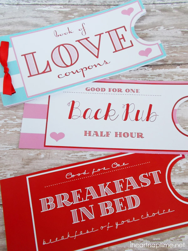 30 last minute diy gifts for your valentine the thinking closet printable love coupon book by i heart naptime solutioingenieria Image collections