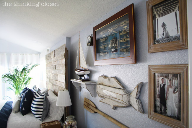 Nautical Bedroom before & after: rustic nautical master bedroom makeover — the