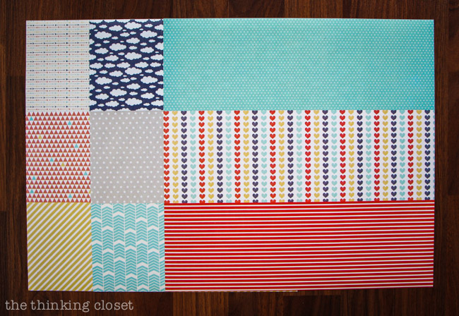 Adhesive Washi Sheets by Silhouette America!  My new favorite craft supply.