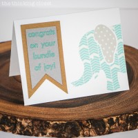Oh Baby, It's a Washi Card & Silhouette Giveaway!