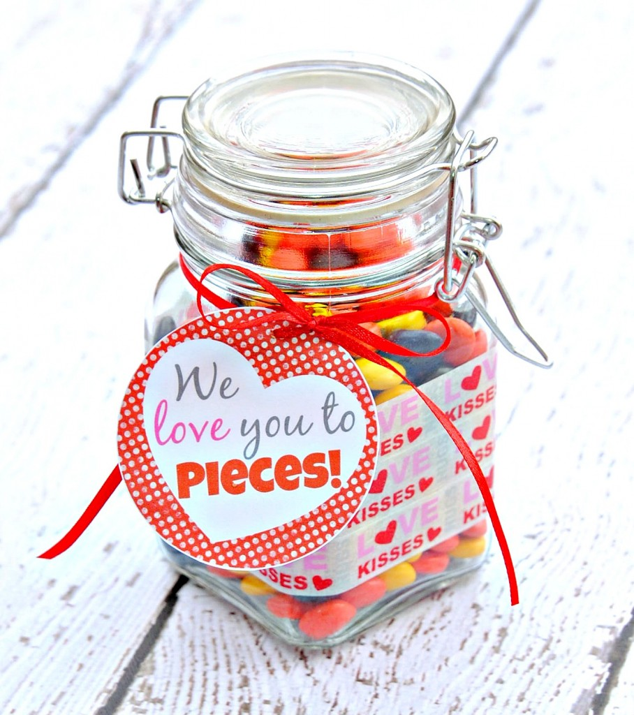 we love you to pieces a last minute valentines day gift idea