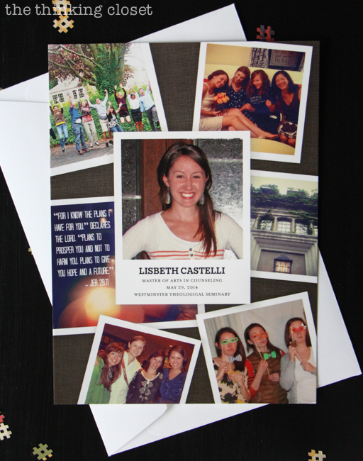 The inspiration behind an Instagram-Themed Graduation Party {in a box}! via thinkingcloset.com
