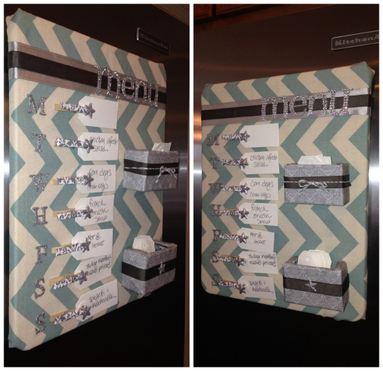 Menu Planner by Denice, featured in The Thinking Closet's Winter 2014 Reader Showcase