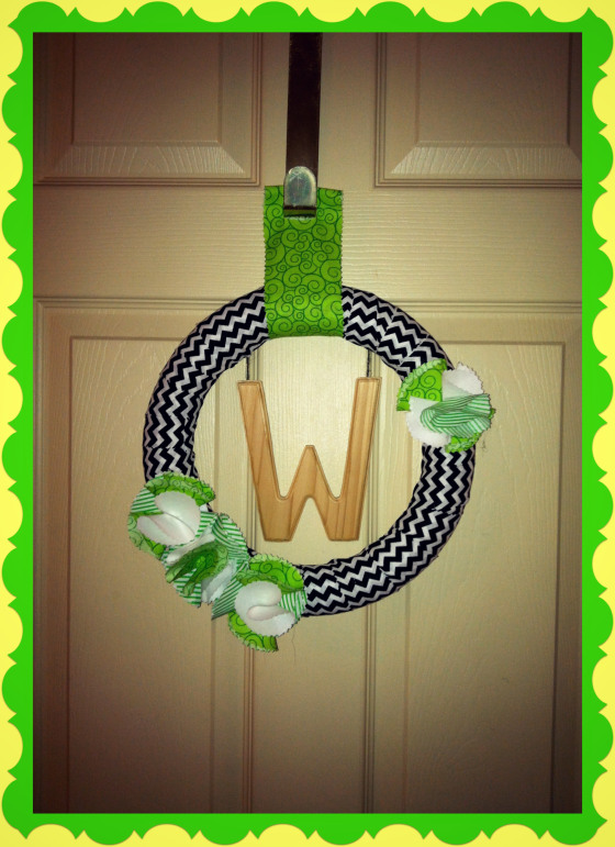 Year-Round Wreath by My Grandpa's House, Featured in The Thinking Closet's Winter 2014 Reader Showcase
