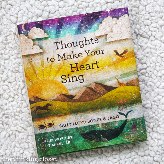 Baby Shower Gift Package: Thoughts to Make Your Heart Sing via thinkingcloset.com