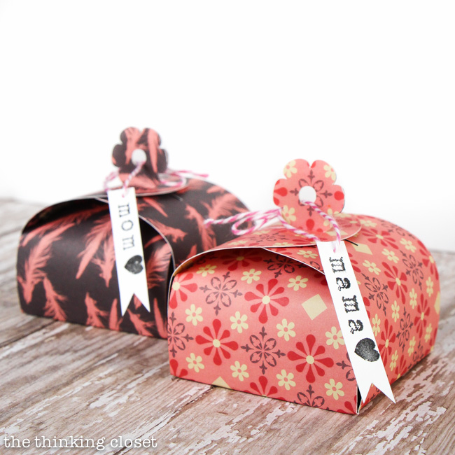 Make Your Own Gifts How to make a paper gift box the thinking closet create your own flower tab paper gift boxes perfect for adding a handmade touch to sisterspd