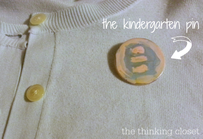 The Kindergarten Pin