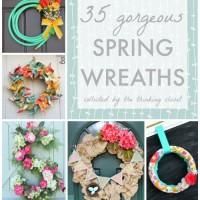 35 Gorgeous Spring Wreaths