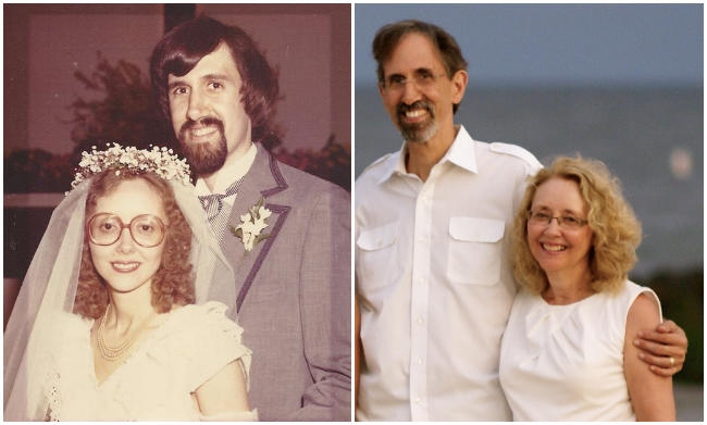 Mom & Dad, Then & Now