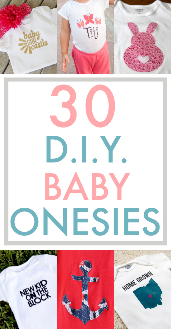 37ed163f4 This collection of 30 baby onesies is my one-stop