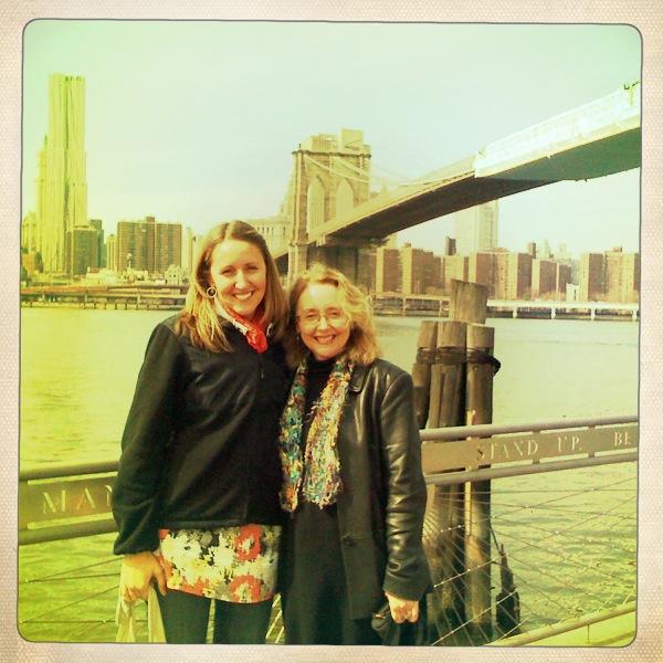Lauren & Her Mama, Carolyn, NYC, Spring 2011