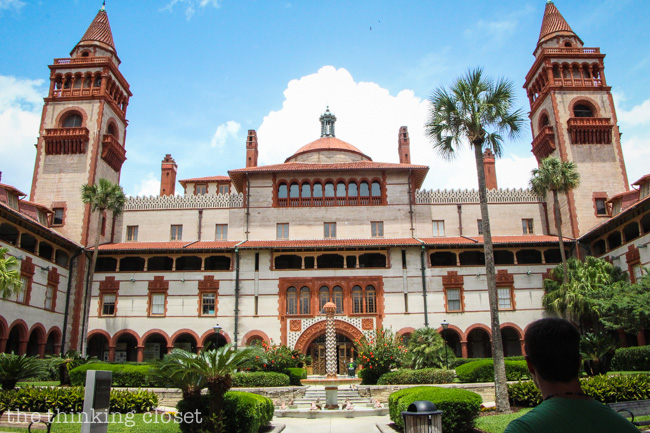 Adventures in St. Augustine, FL via thinkingcloset.com