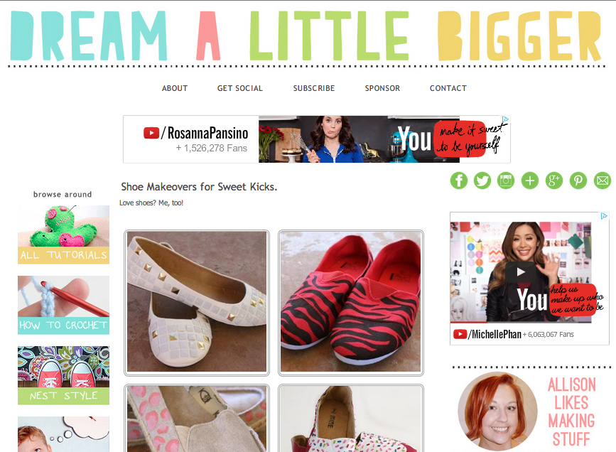 Allison's Amazing Shoe Makeover Gallery!