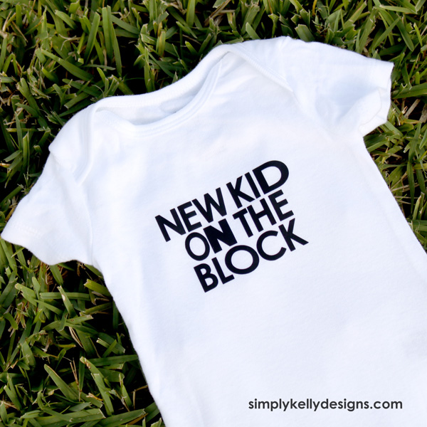 30 D.I.Y. Baby Onesies - the thinking closet