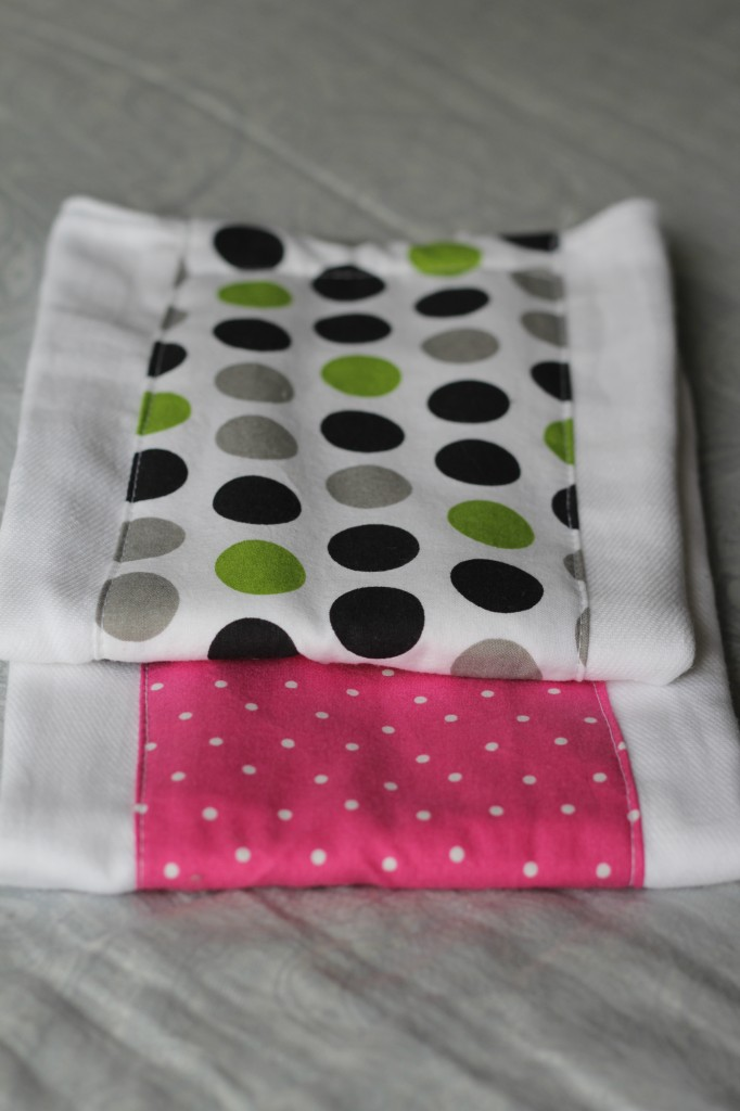 Burp Cloths by Callie, Featured in The Thinking Closet's Spring 2014 Reader Showcase