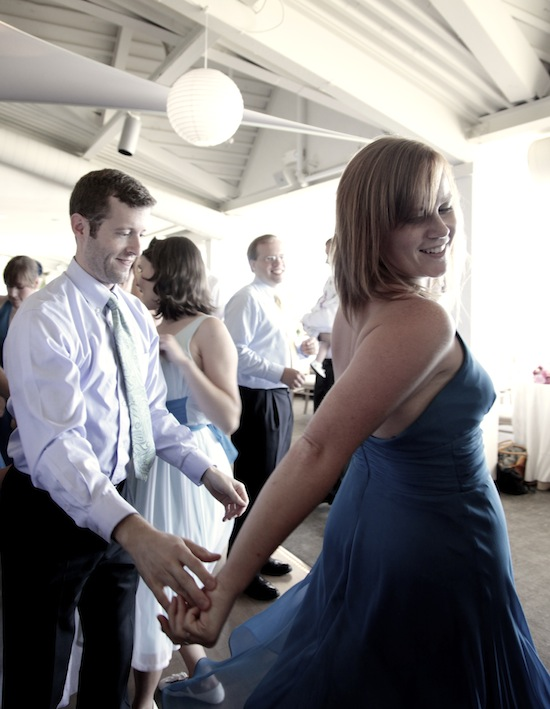 Our DIY Wedding Reception by the Sea: A Party to Remember...especially thanks to the rockin' dance floor!