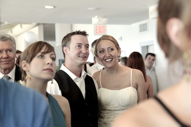 Enjoy the photo slideshow at our wedding reception.