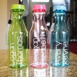 Personalized Plastic Milk Bottles: such a fun throw-back to the days of the vintage milk bottle. These would make such great shower gifts or hostess gifts (for the kids!). Super easy to customize, too!