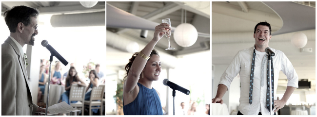 Our DIY Wedding Reception: Heartfelt Speeches by my Father, Sister, and Brother-In-Law