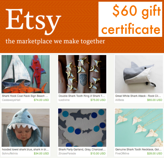 Thanks to etsy, one of our official Scarf Week Sponsors!