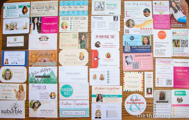 My Haven 2014 Biz Card Collection