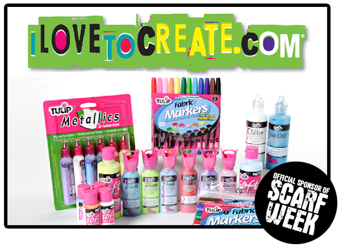 Thanks to iLovetoCreate for being one of our Official Scarf Week Sponsors!